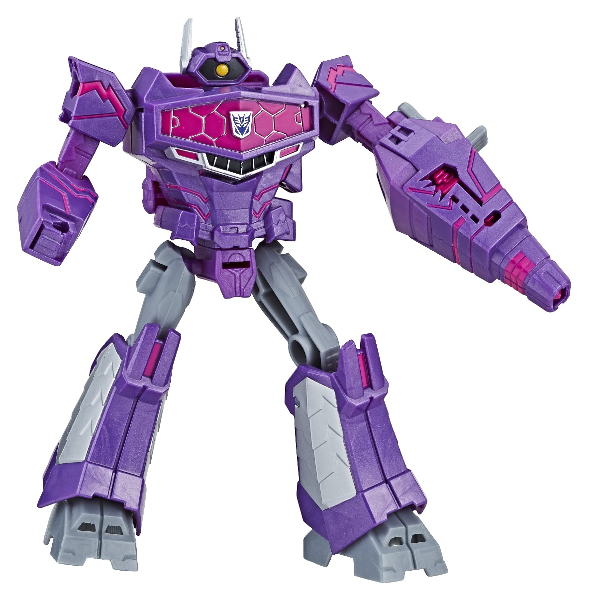 Figurina Transformers Cyberverse Action Attacker Ultra Shockwave