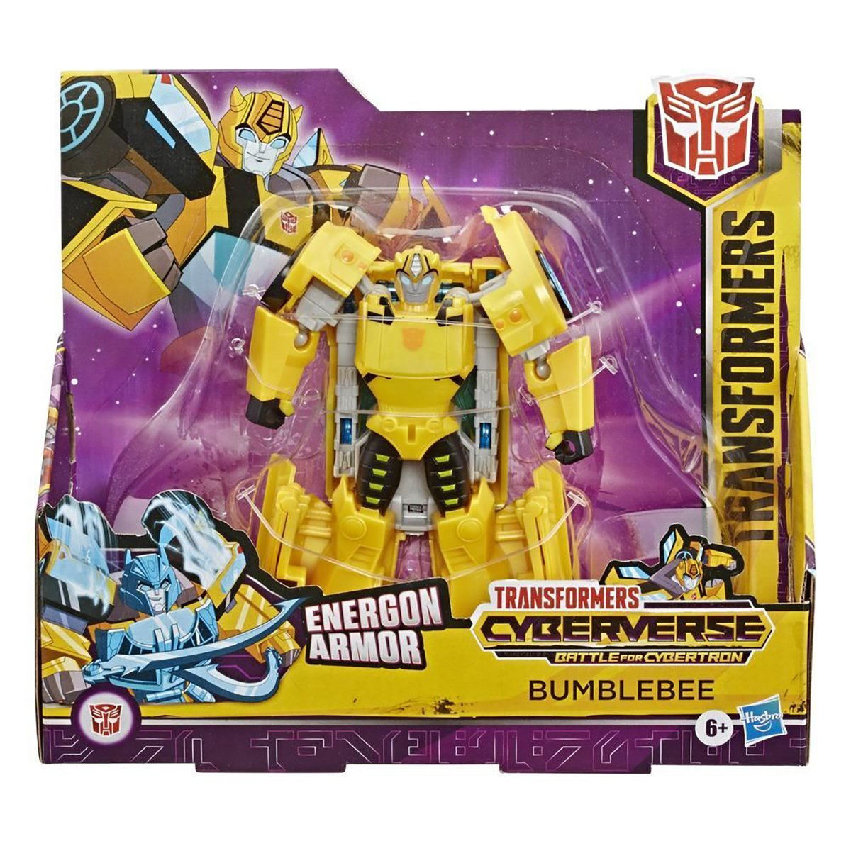 Figurina Transformers Cyberverse Action Attacker Ultra, Bumblebee E7106