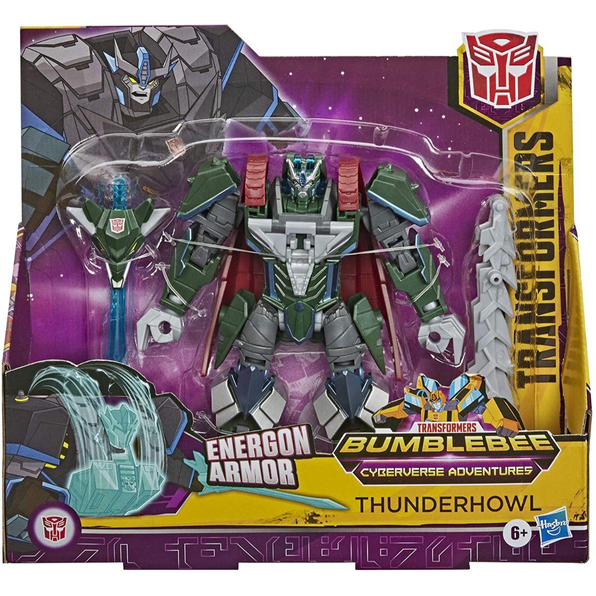Figurina Transformers Cyberverse Action Attacker Ultra, Thunderhowl, E7110