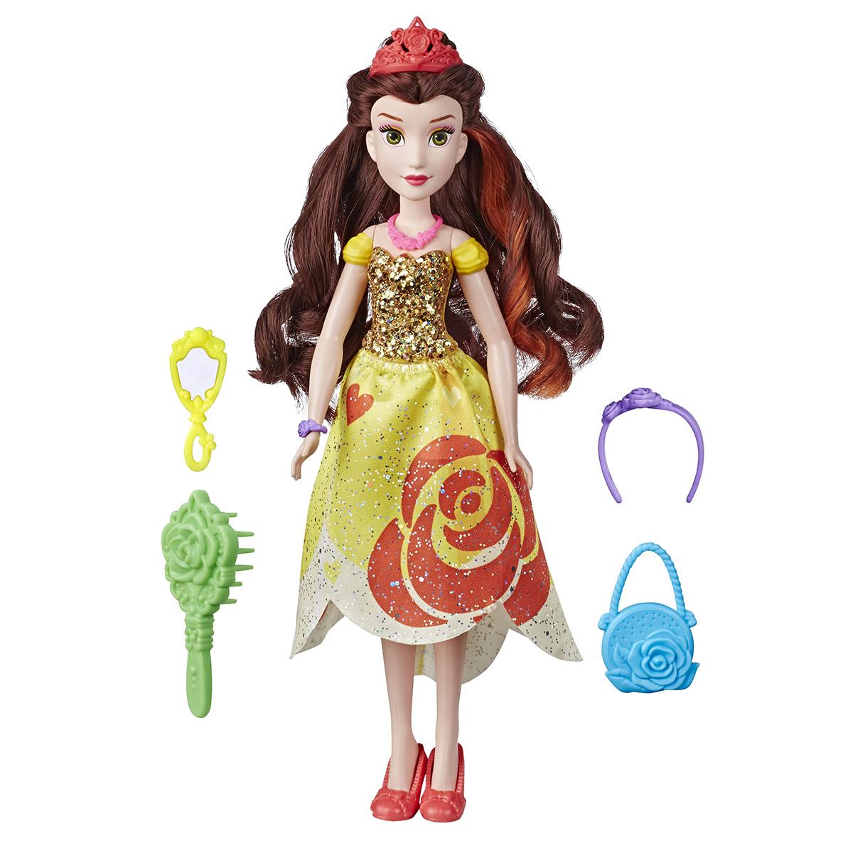 Papusa cu accesorii Disney Princess, Belle