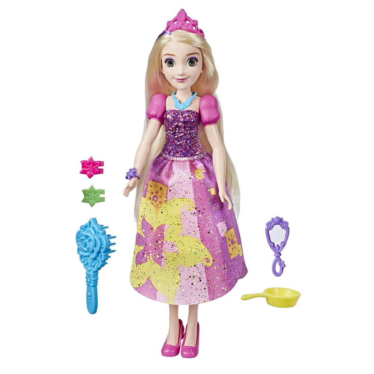 Papusa cu accesorii Disney Princess, Rapunzel