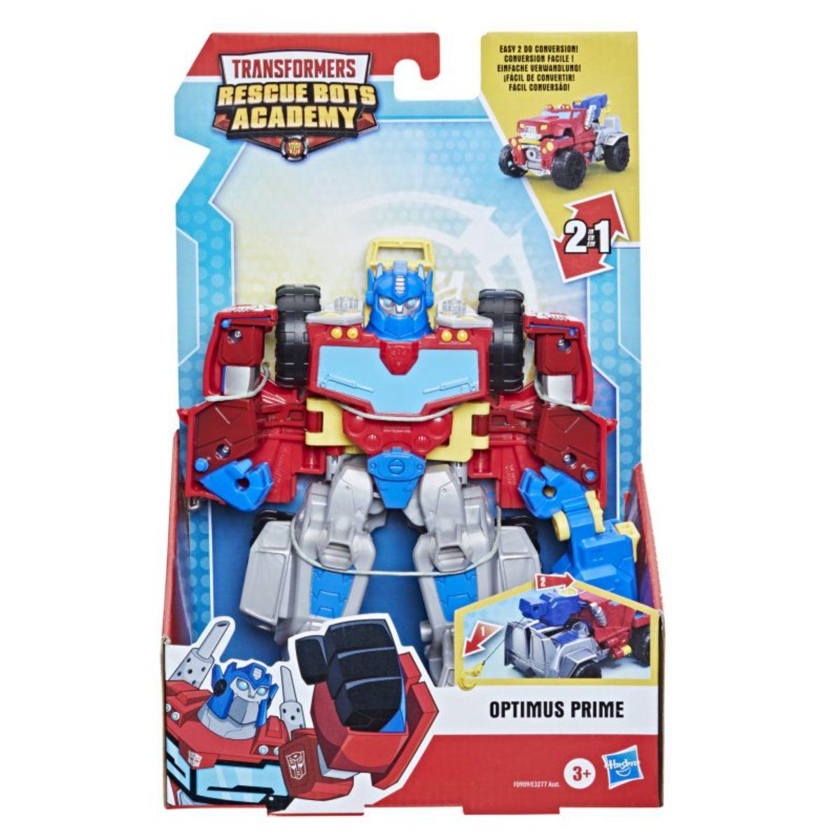 Figurina Transformers Rescue Bots Academy, Optimus Prime, F0909EU40
