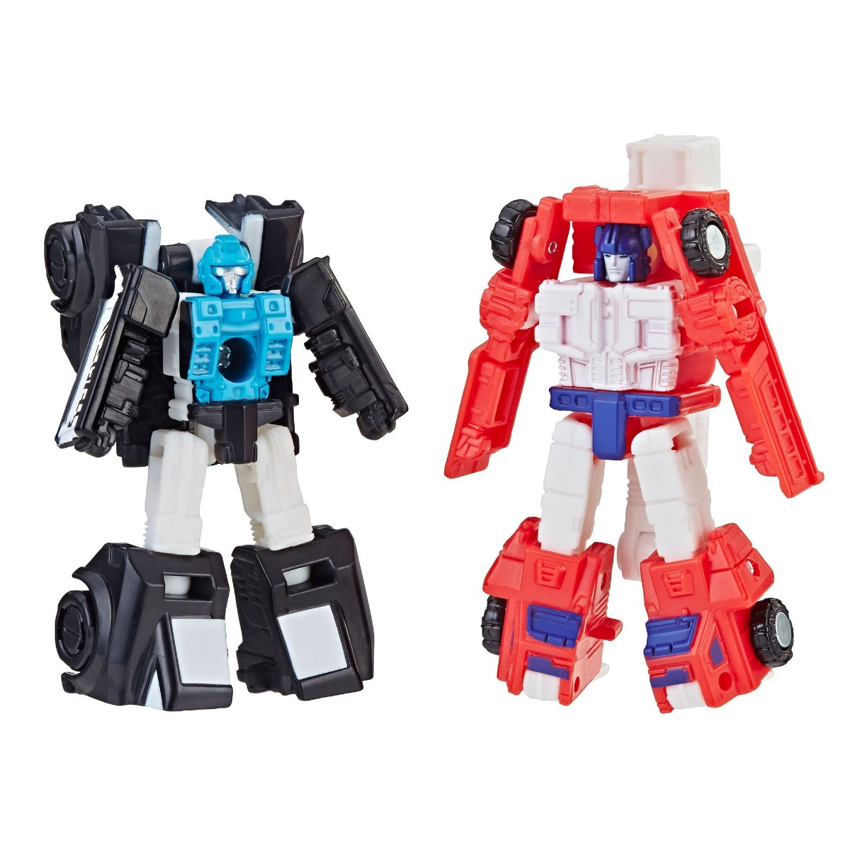 Figurina Transformers Micromaster WFC, Red Heat, Stakeout, E3562 imagine 2021