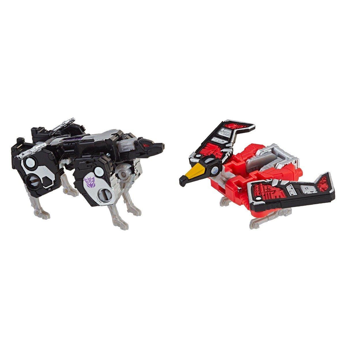 Figurina Transformers Micromaster WFC, Laserbeak, Ravage, E3561