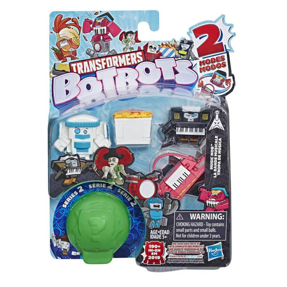 Set 5 figurine BotBots Transformers S2 Music Mob, E4140