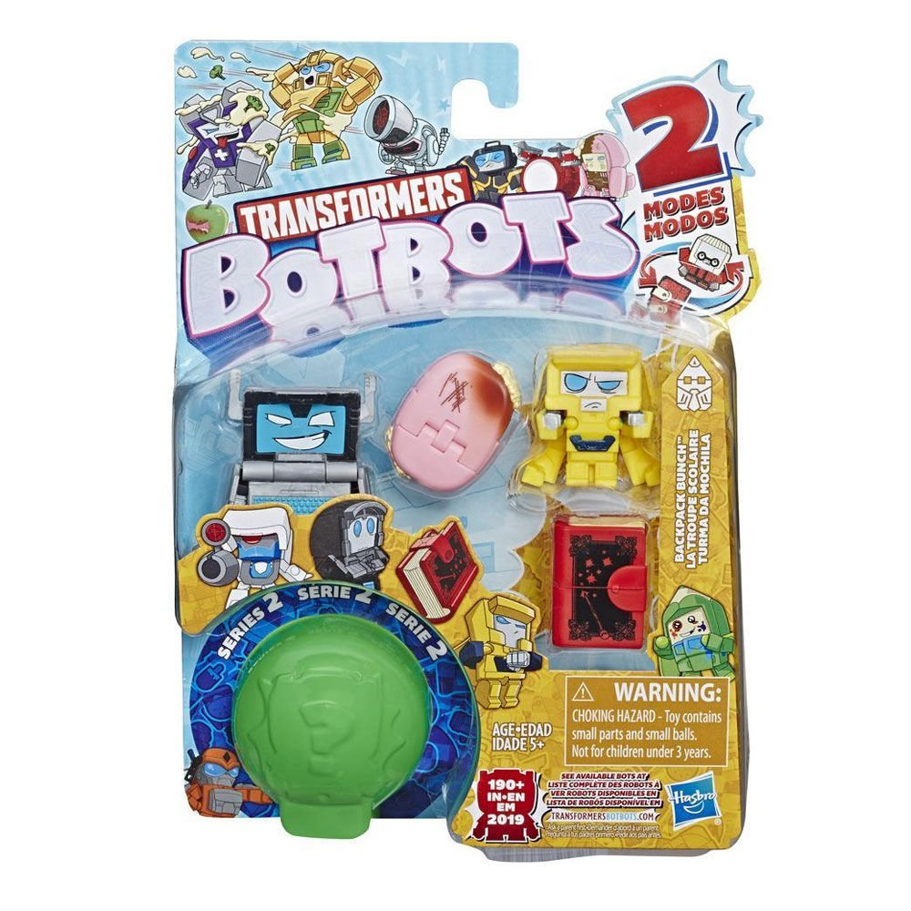 Set 5 figurine BotBots Transformers S2 Backpack Bunch, E4145