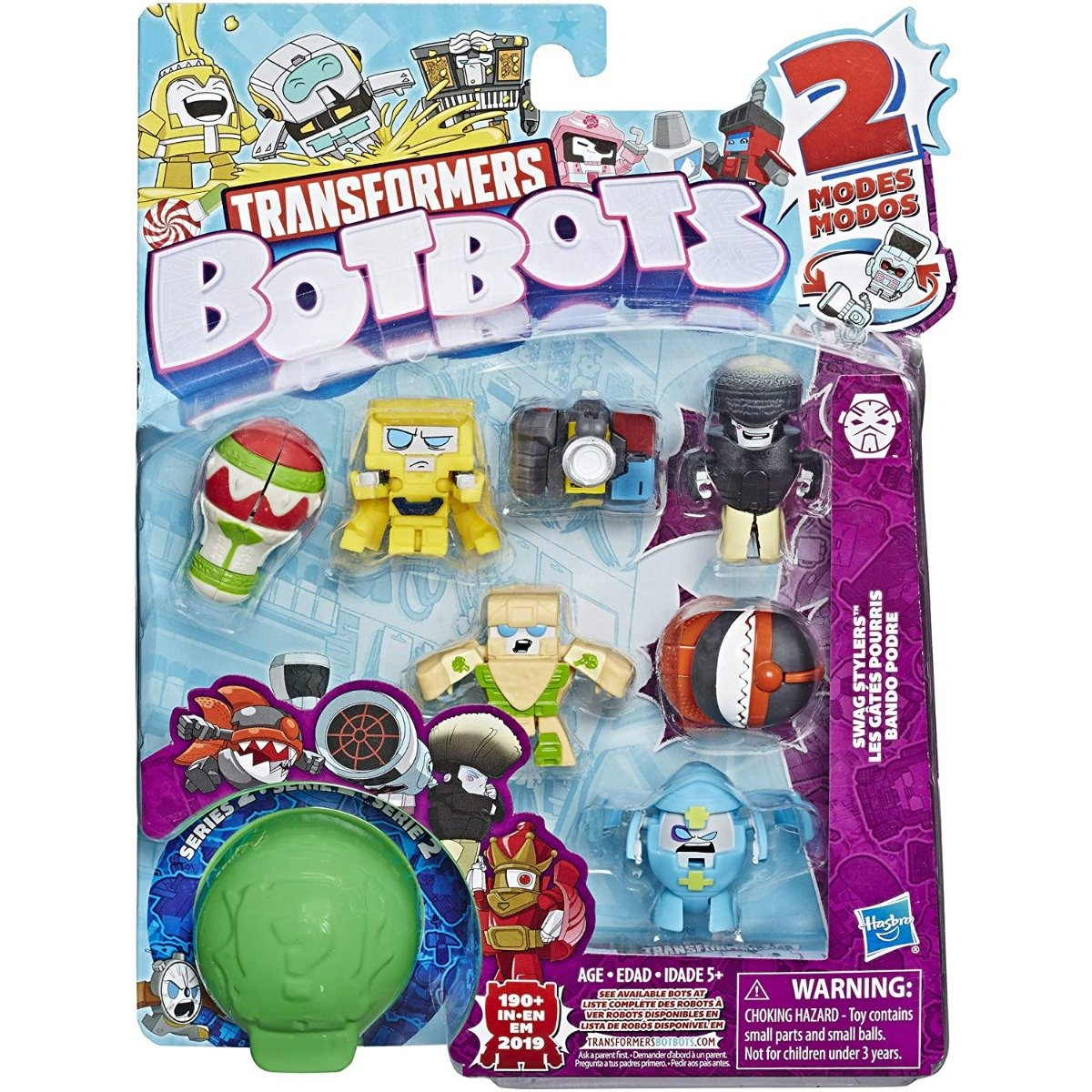 Set 8 figurine BotBots Swag Stylers S2