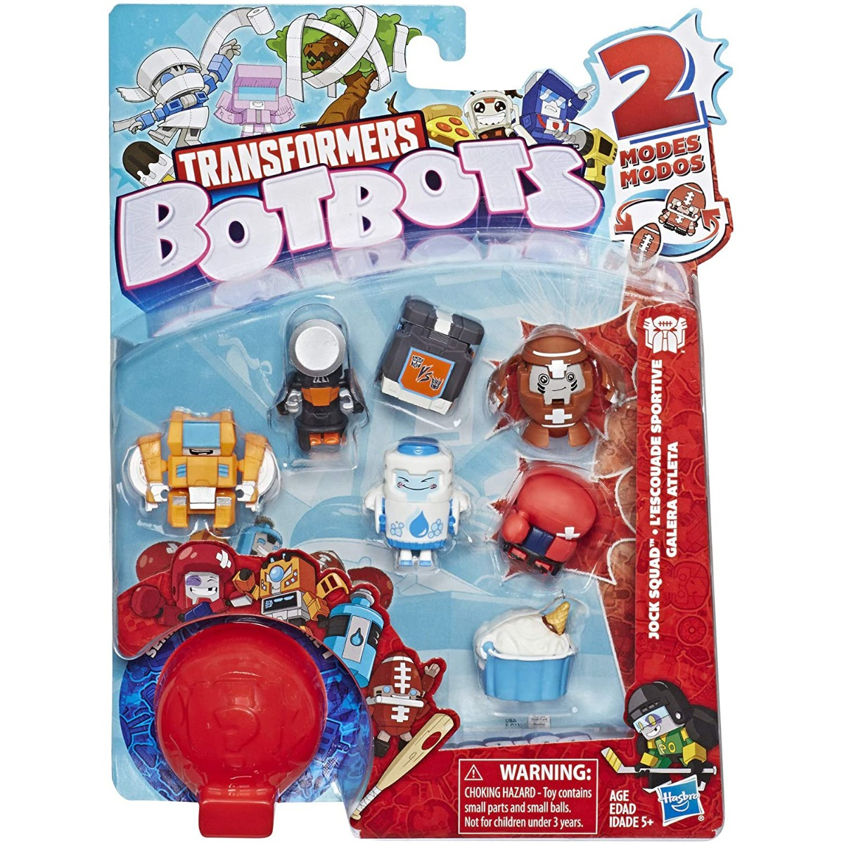 Set 8 figurine BotBots Spoiled Rottens S2