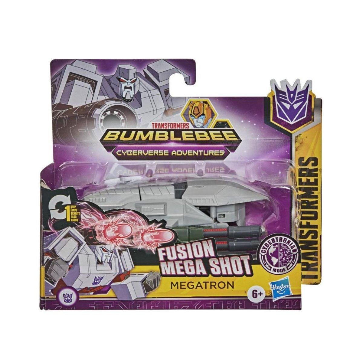 Figurina Transformers Cyberverse, Step Changer E7075