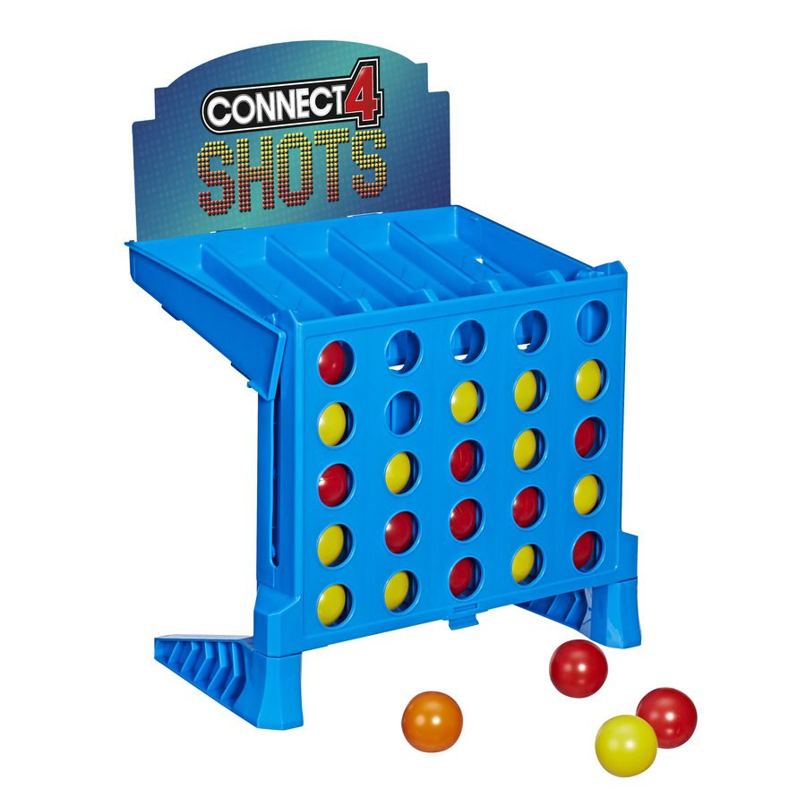 Joc Hasbro Games - Connect 4 Shots