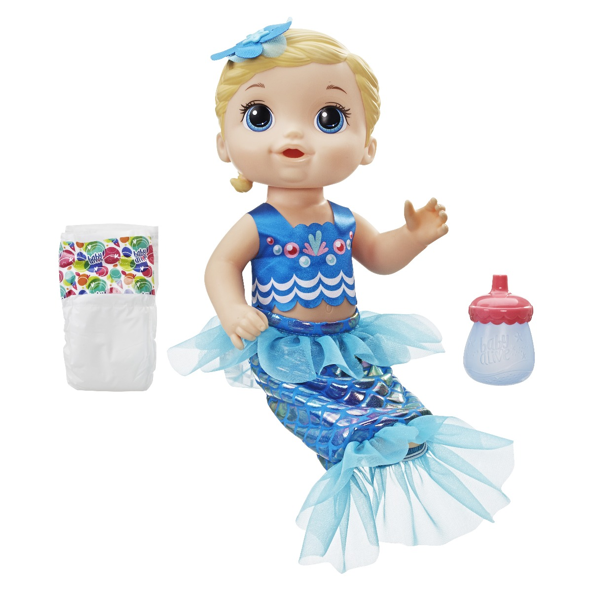 Papusa Baby Alive - Shimmer N Splah, sirena
