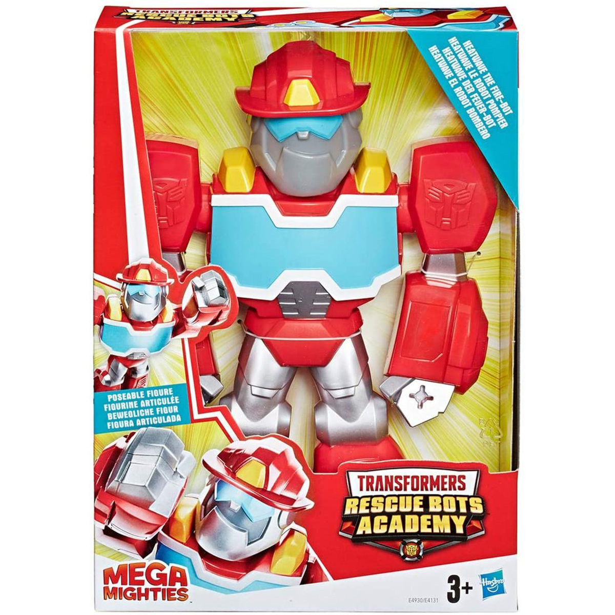 Figurina Transformers Mega Mighties Heatwave