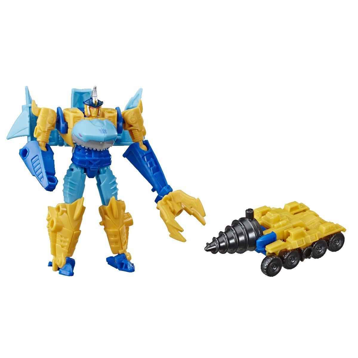 Figurina Transformers Cyberverse, Shy-Byte Driller Drive, E4297