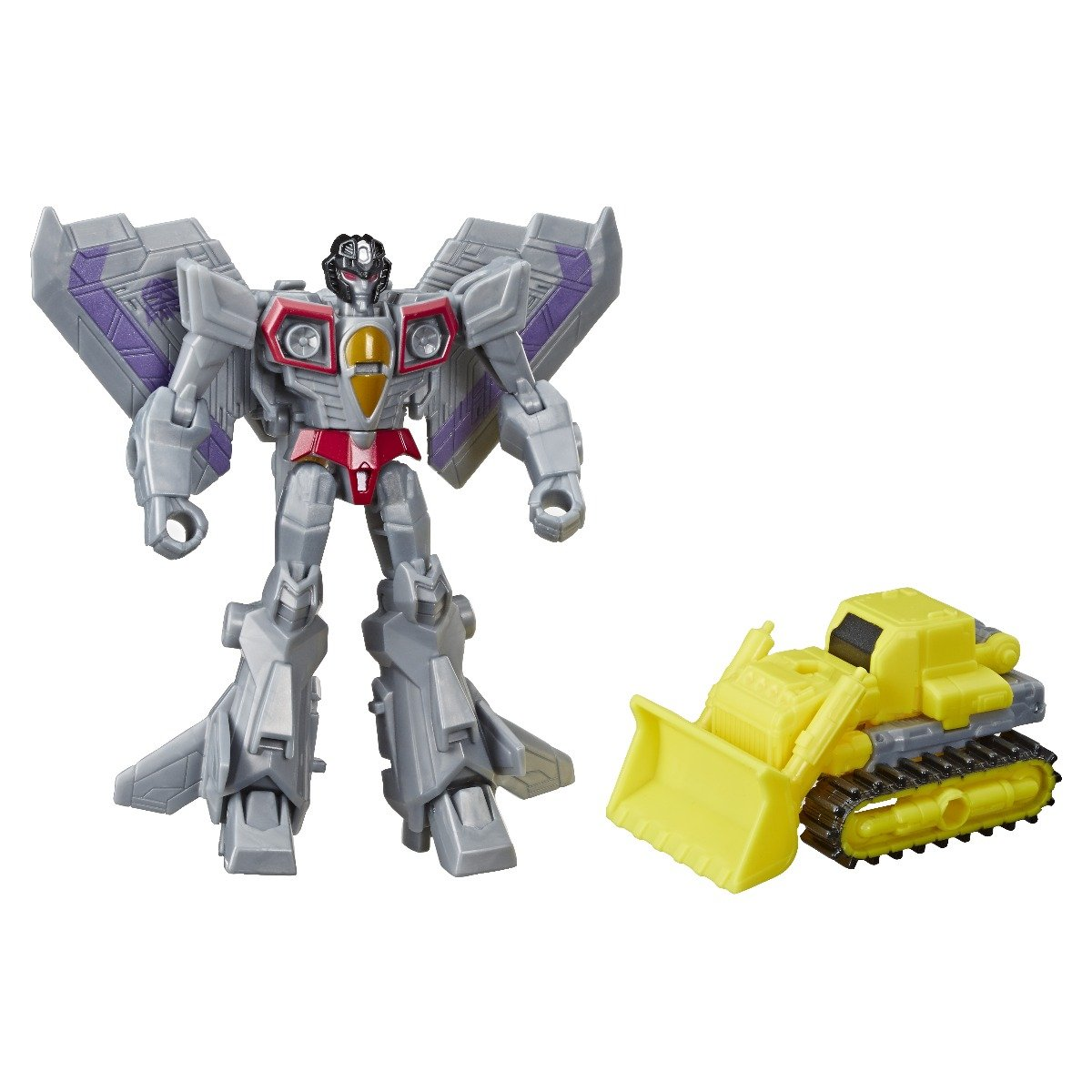 Figurina Transformers Cyberverse, Starscream Demolition Destroyer, E4298