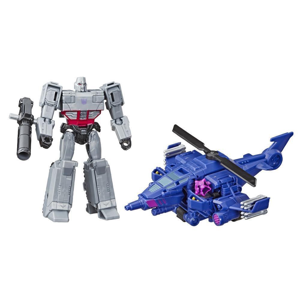 Figurina Transformers Cyberverse Spark Armor, Megatron, Chopper Cut, E4327