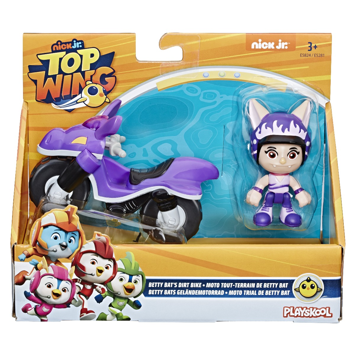 Figurina cu vehicul Top Wing, Betty (E5824)