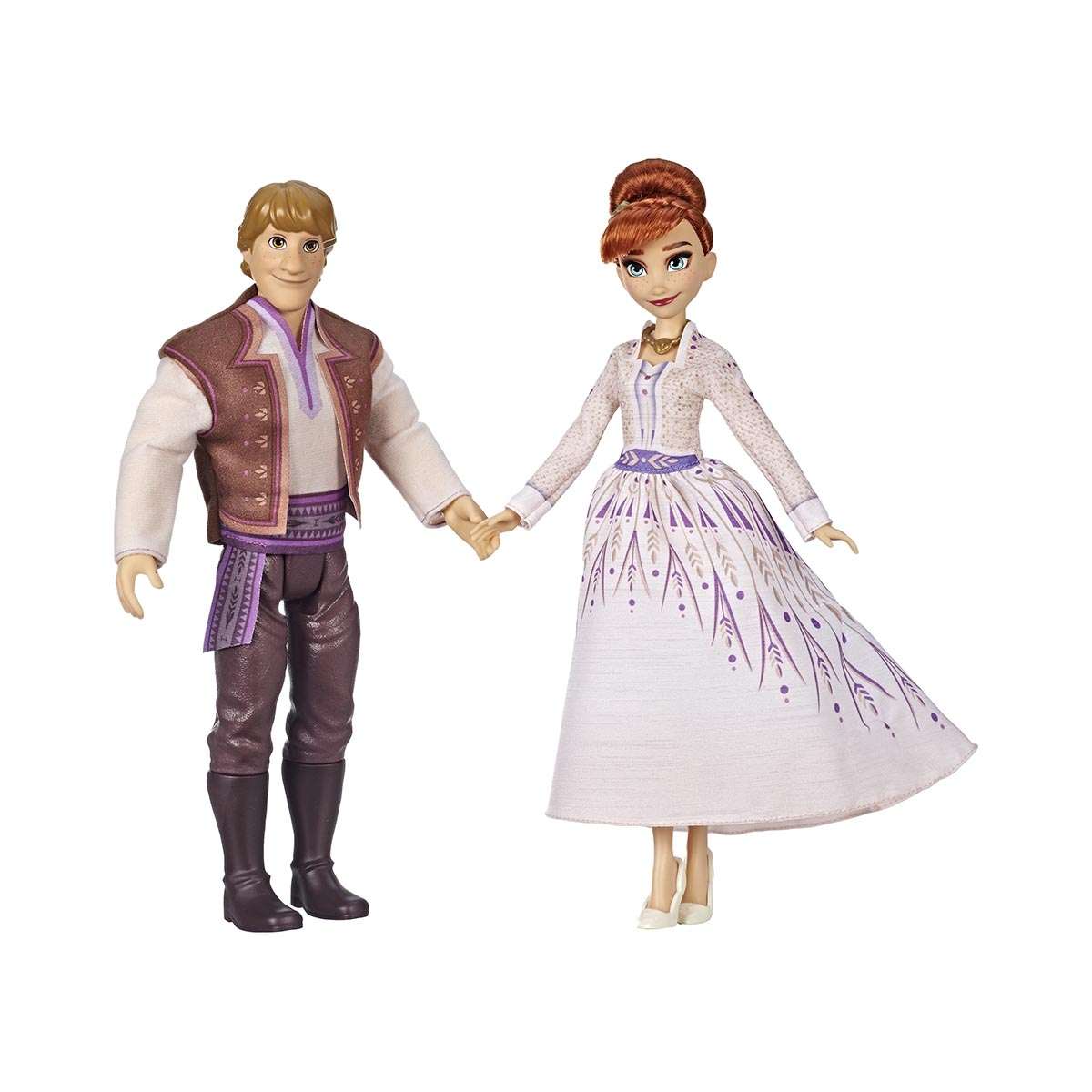 Set 2 papusi Anna si Kristoff Disney Frozen 2