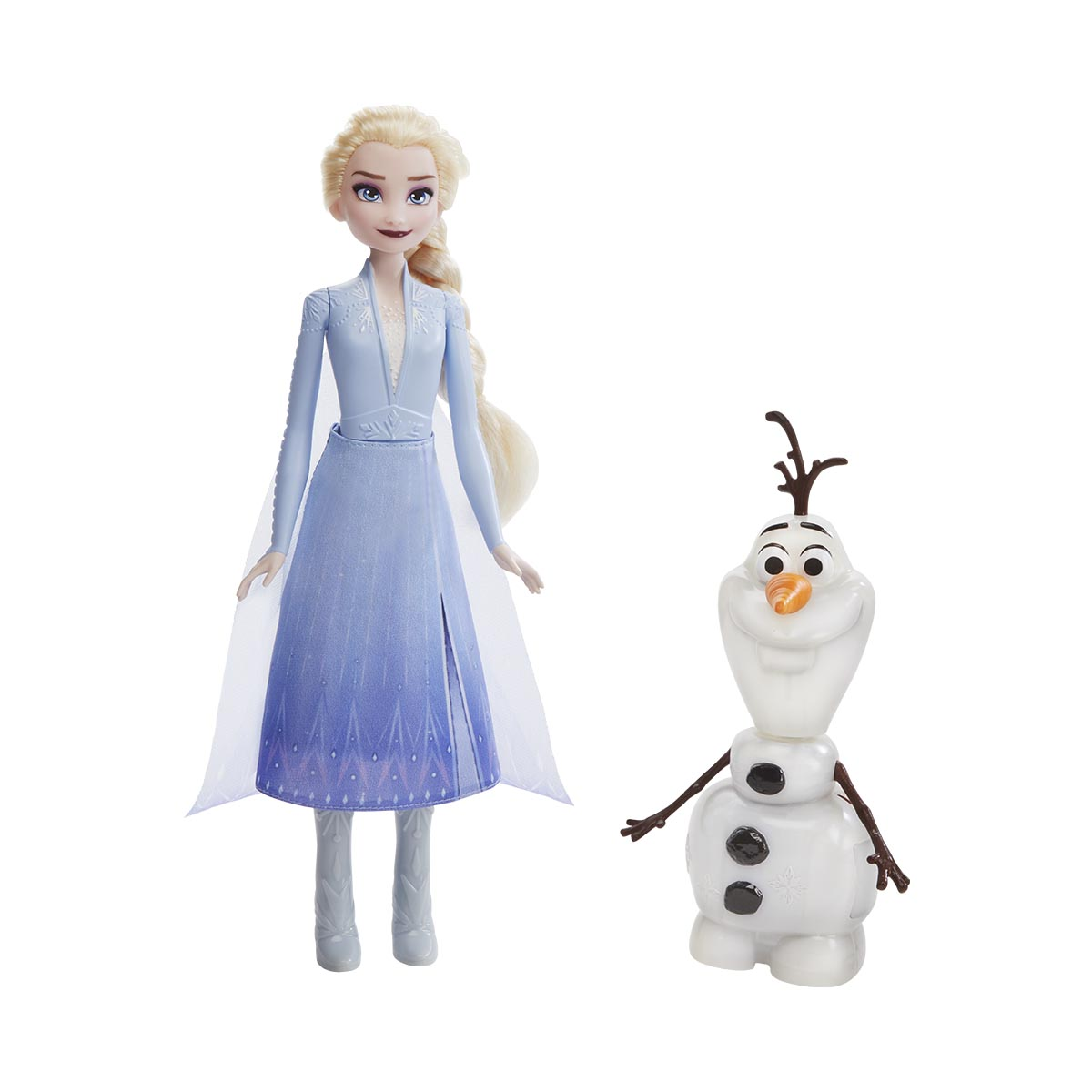 Set 2 papusi interactive Elsa si Olaf Disney Frozen 2