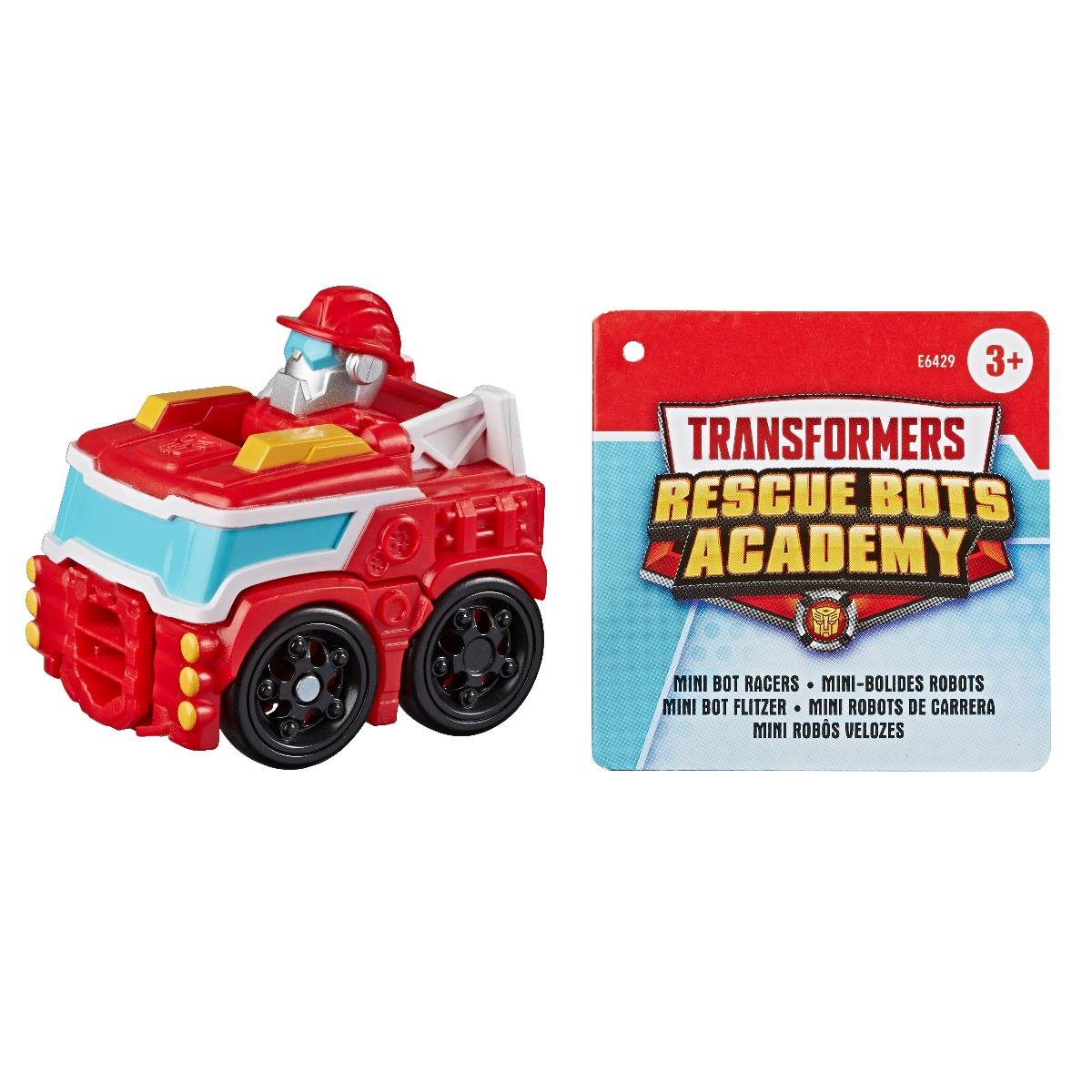Figurina Transformers 2 in 1 Rescue Bots Miniracers