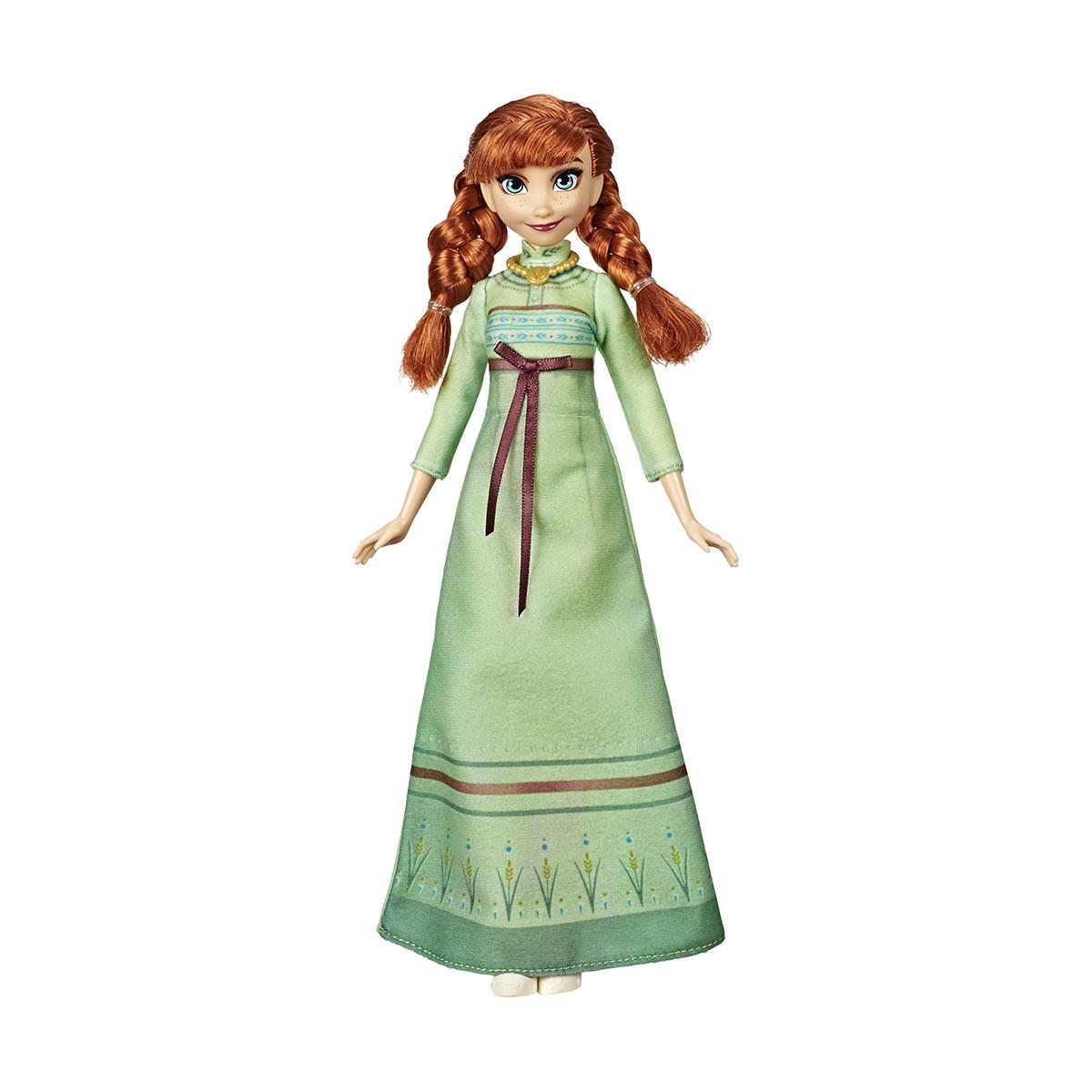 Papusa Anna cu costumatie de dormit Disney Frozen 2
