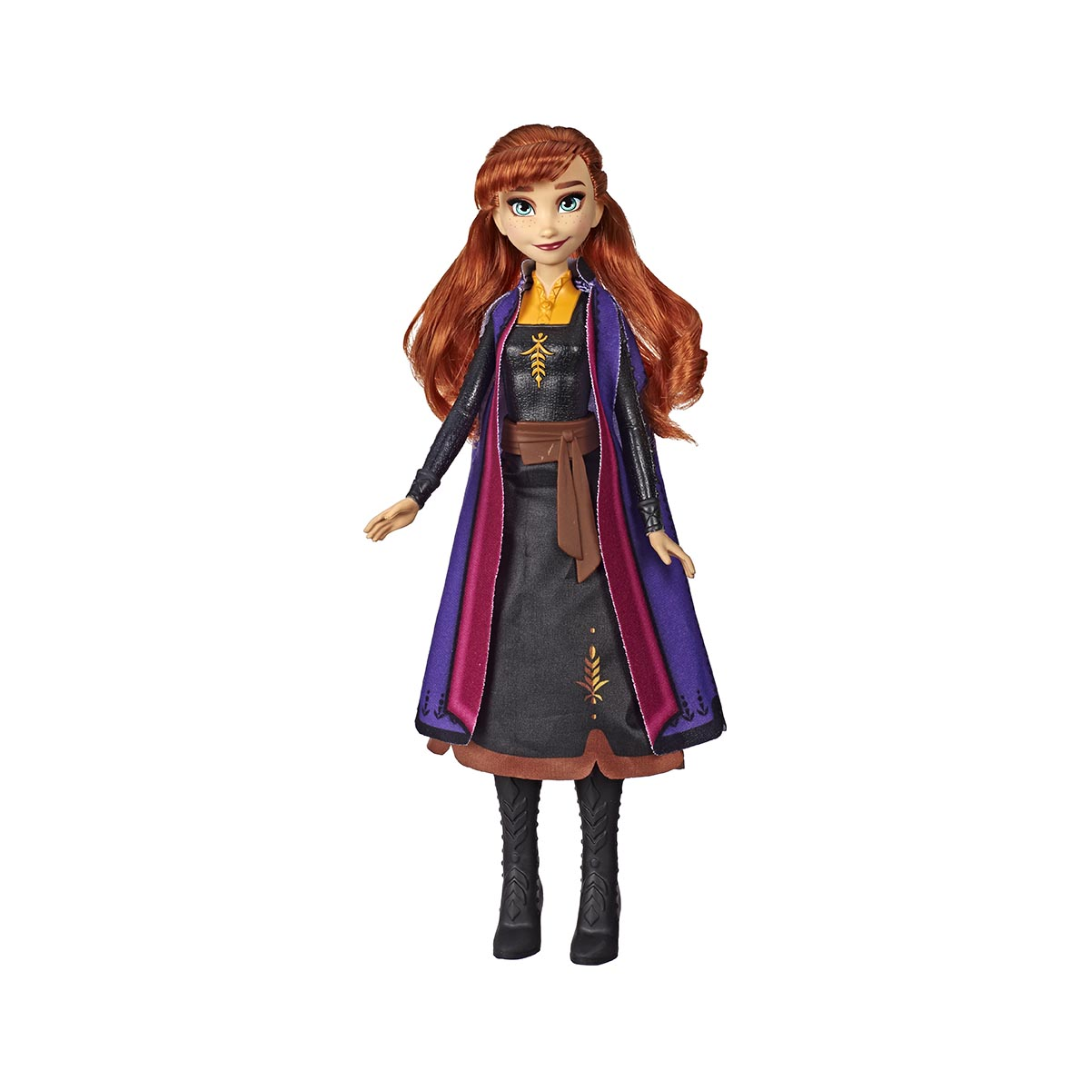 Papusa care lumineaza Anna Disney Frozen 2