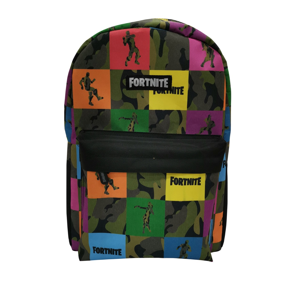 Rucsac cu imprimeu Fortnite, 45 cm, Multicolor