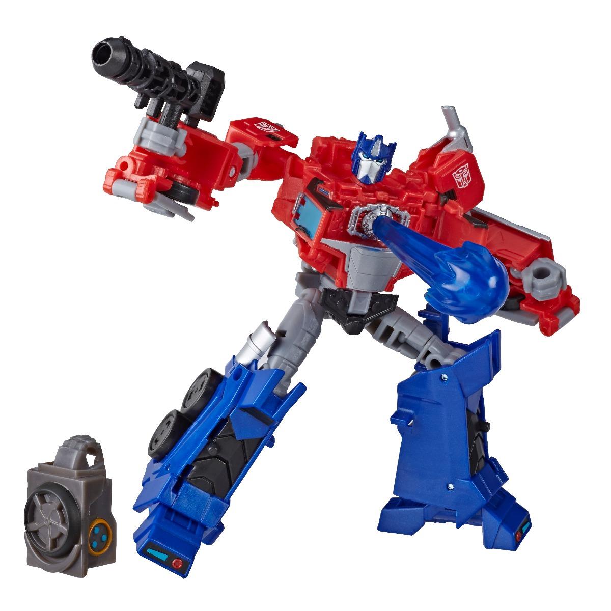 Figurina Transformers Cyberverse Deluxe, Optimus Prime, E7096