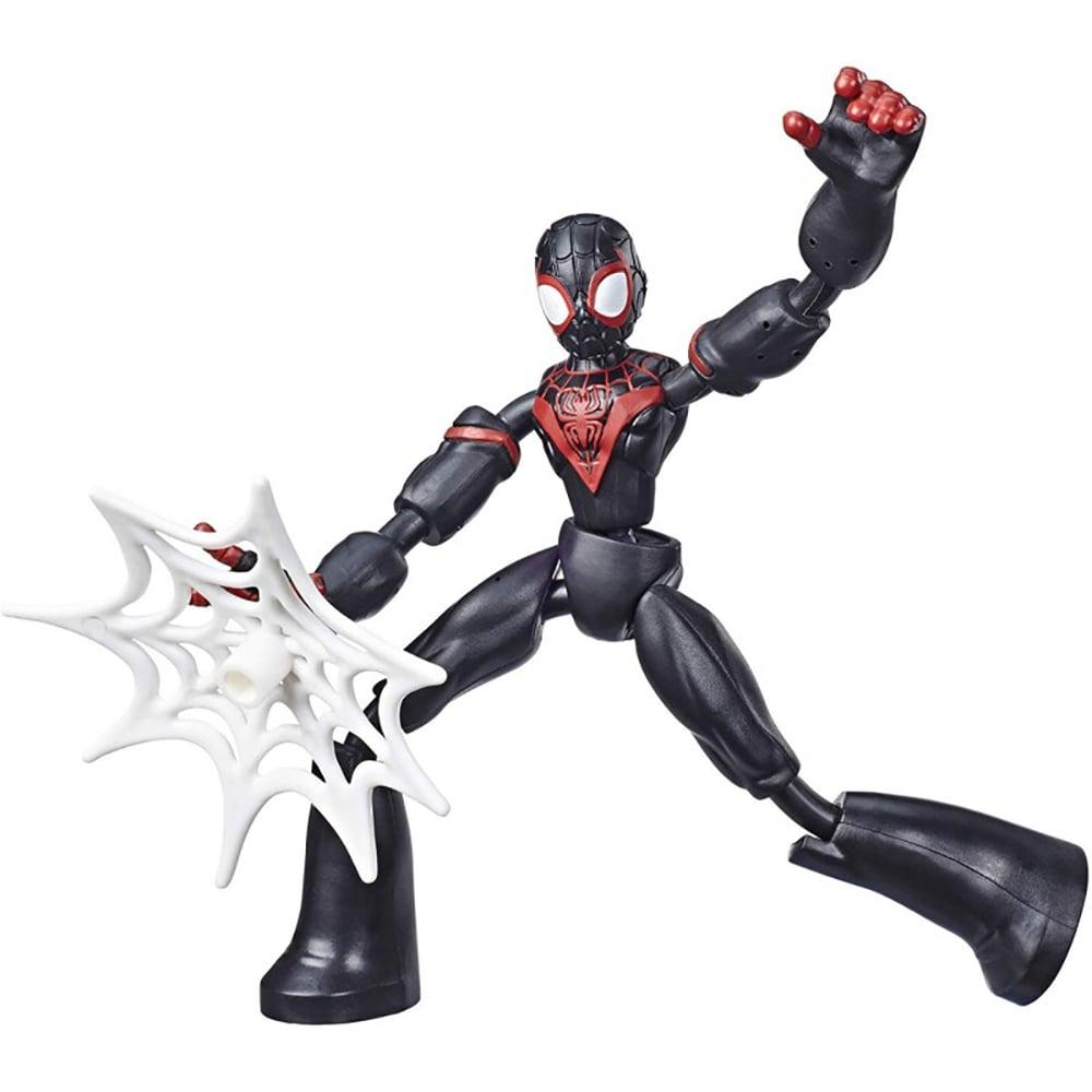 Figurina flexibila Spiderman Bend and Flex, Miles E7687