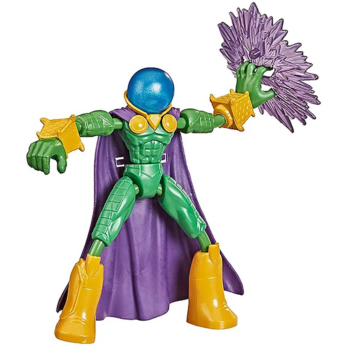 Figurina flexibila Spiderman Bend and Flex, Mysterio F0973