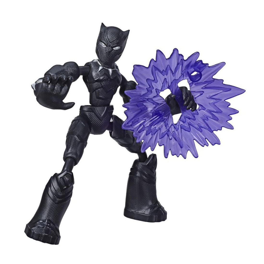 Figurina flexibila Avengers Bend and Flex, Black Panther (E7868)