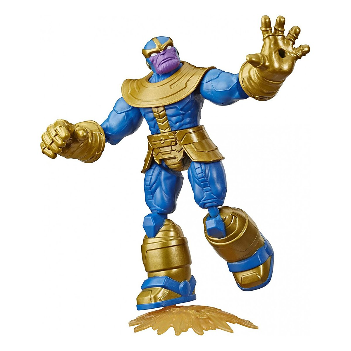 Figurina flexibila Avengers Bend and Flex, Thanos (E8344)