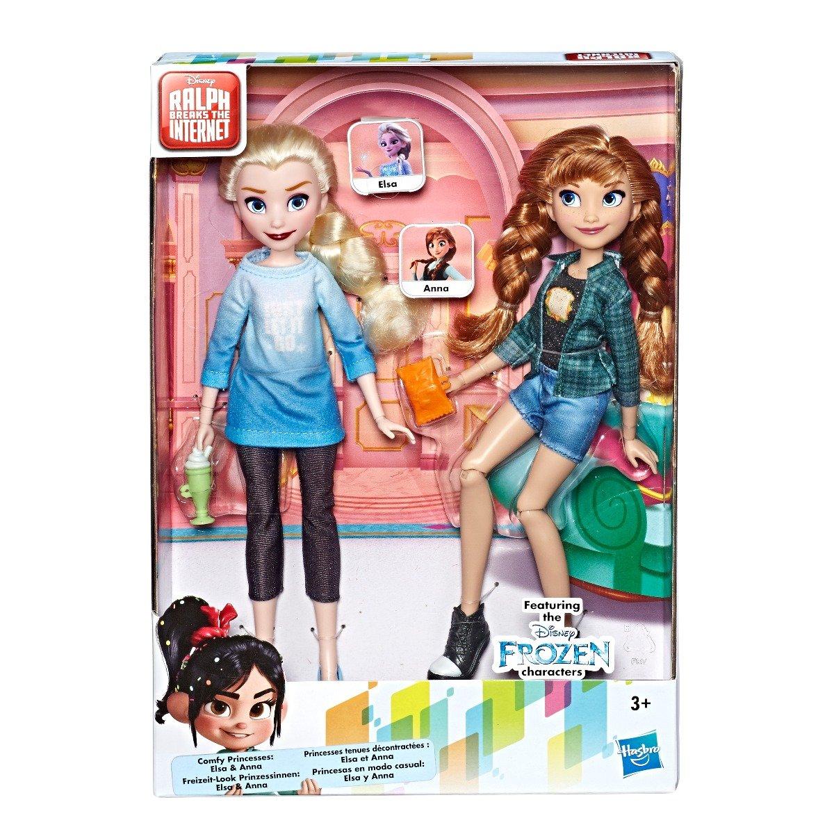 Set 2 papusi Disney Frozen 2, Anna si Elsa