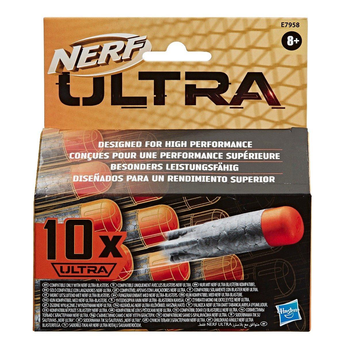 Set 10 proiectiile Nerf Ultra