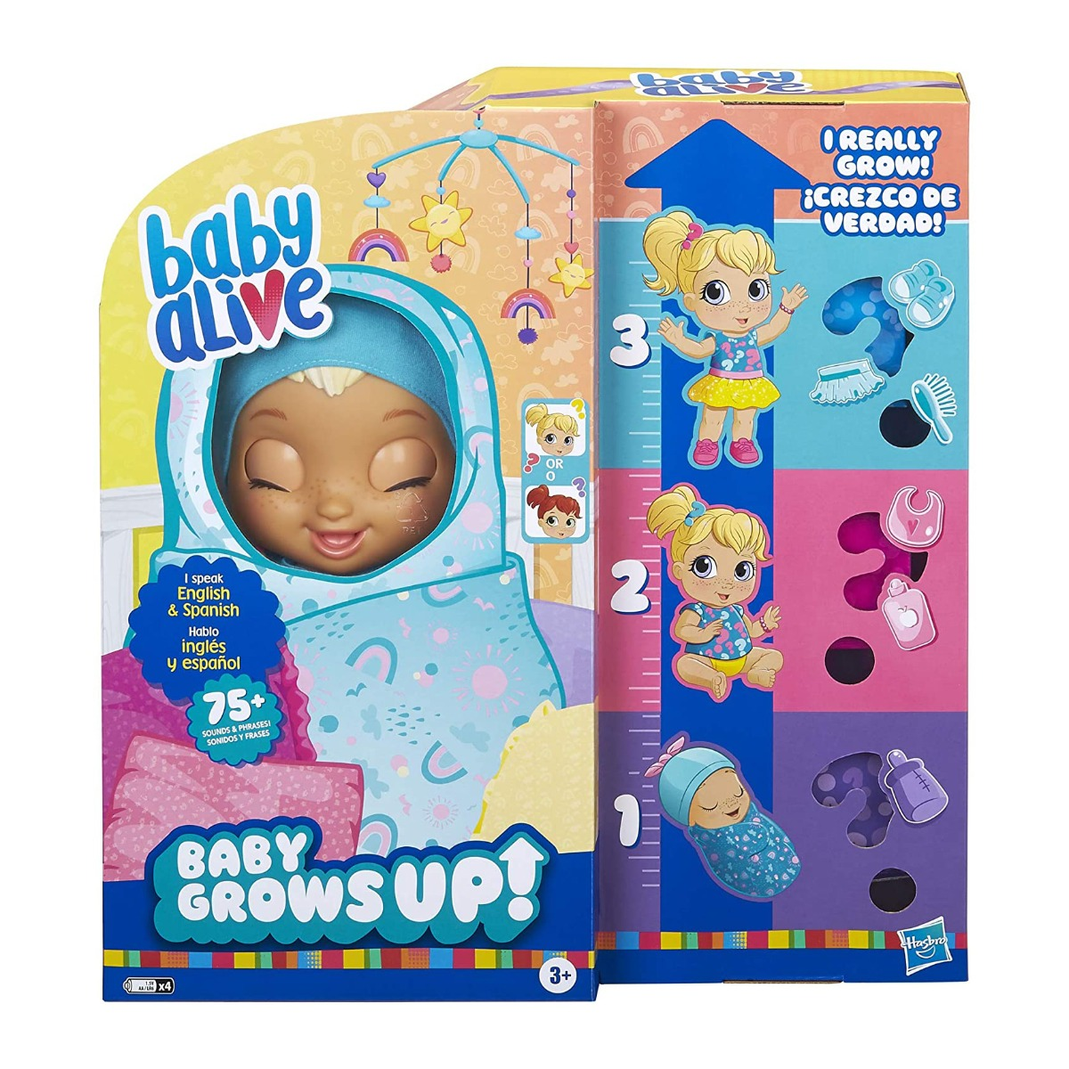 Papusa care creste in timp real Baby Alive, Baby Grows Up