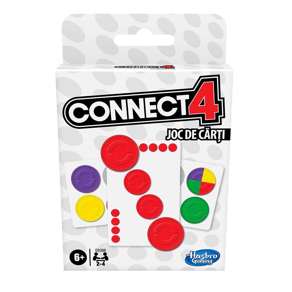 Joc de carti Hasbro Connect4