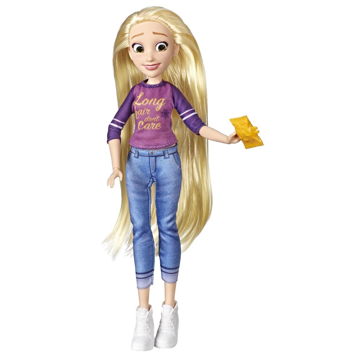 Papusa Disney Princess Comfy Squad, Rapunzel E8402