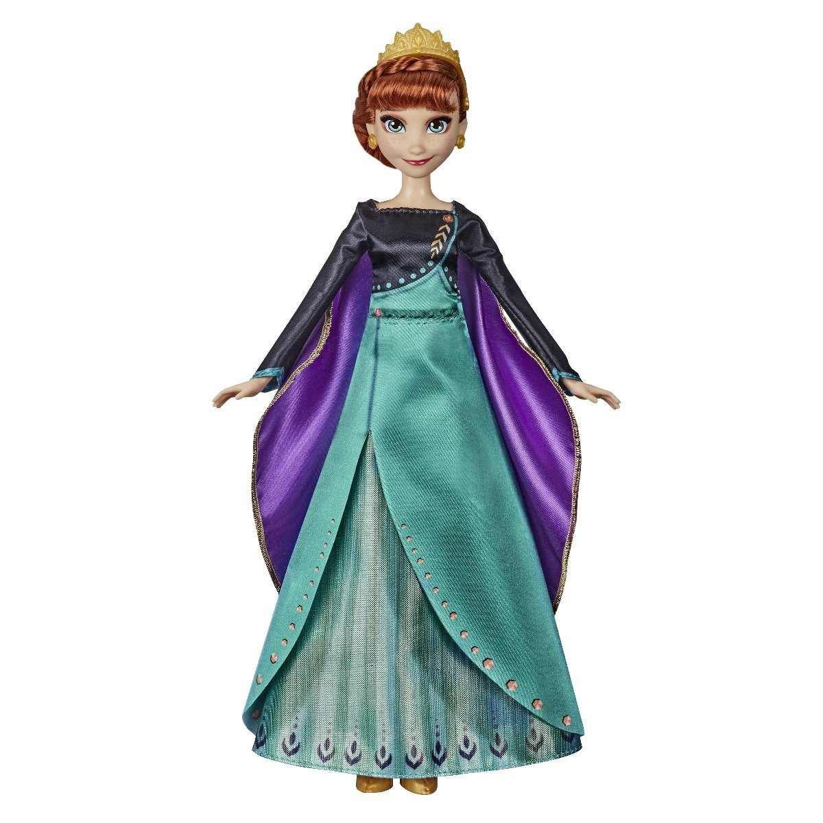 Papusa interactiva Anna Musical Adventure Disney Frozen 2