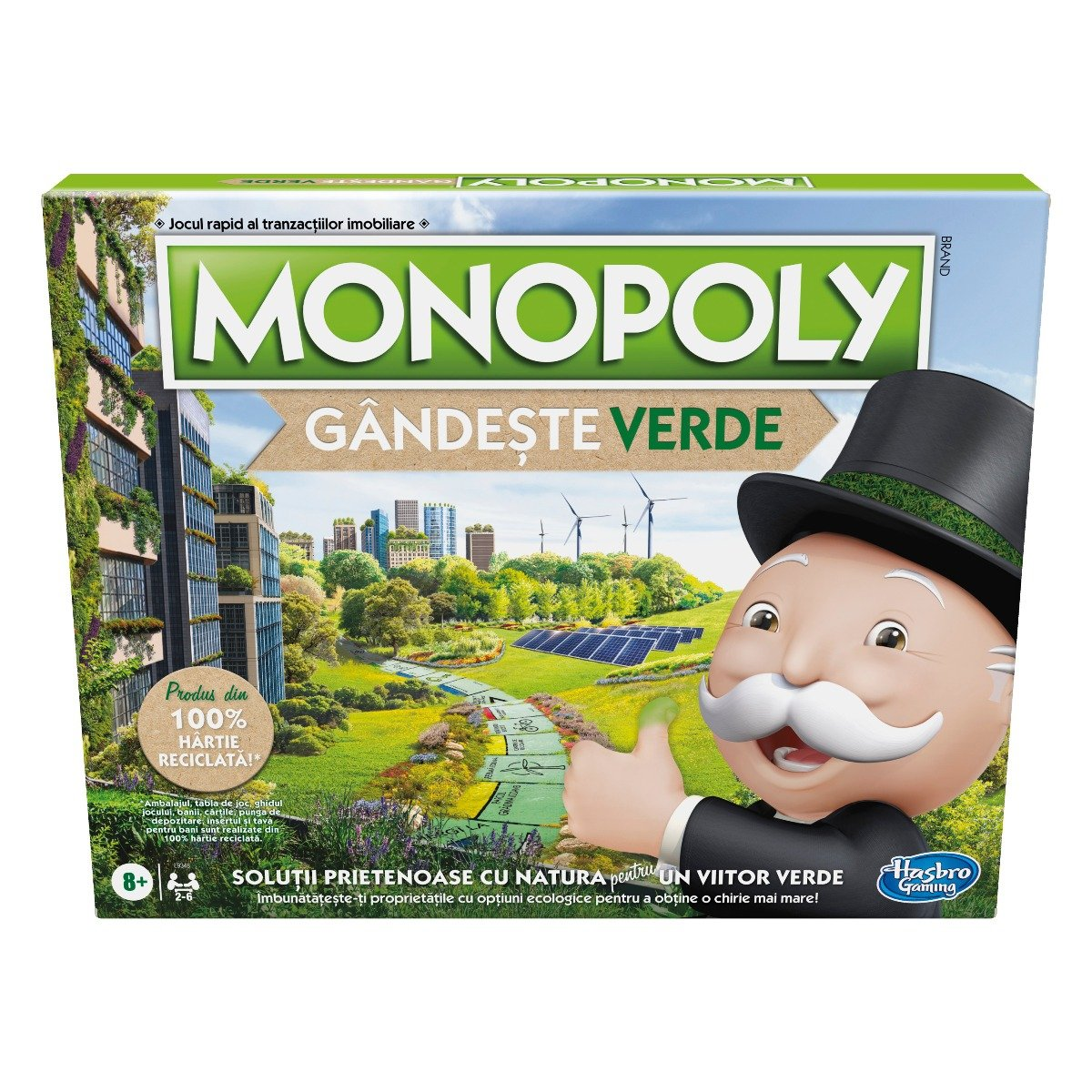 Joc Monopoly, Gandeste verde