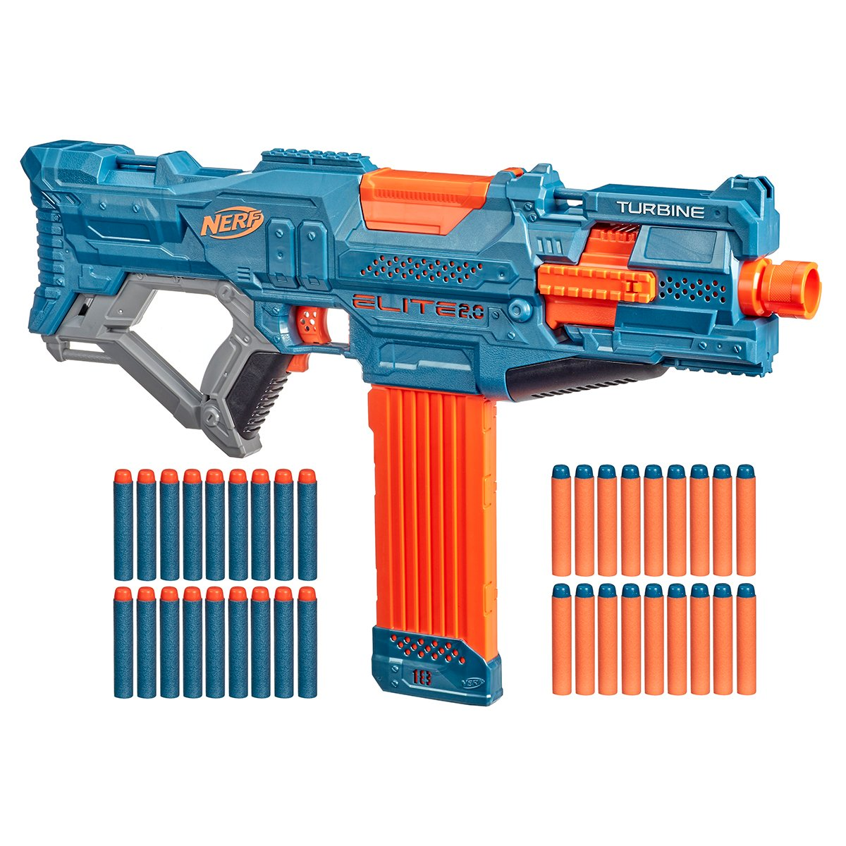 Blaster Nerf Elite 2.0 Turbine CS-18