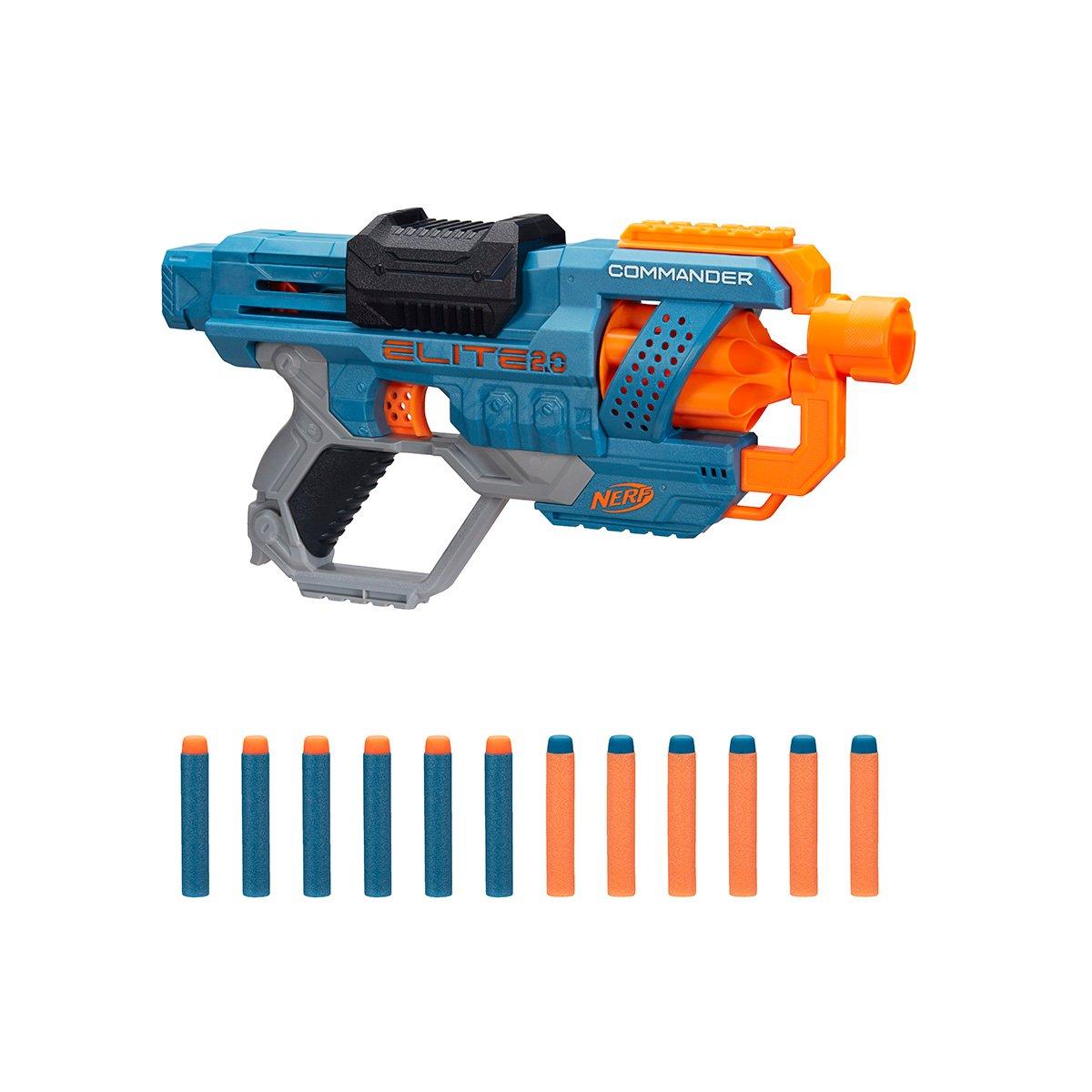Blaster Nerf Elite 2.0 Commander RD-6