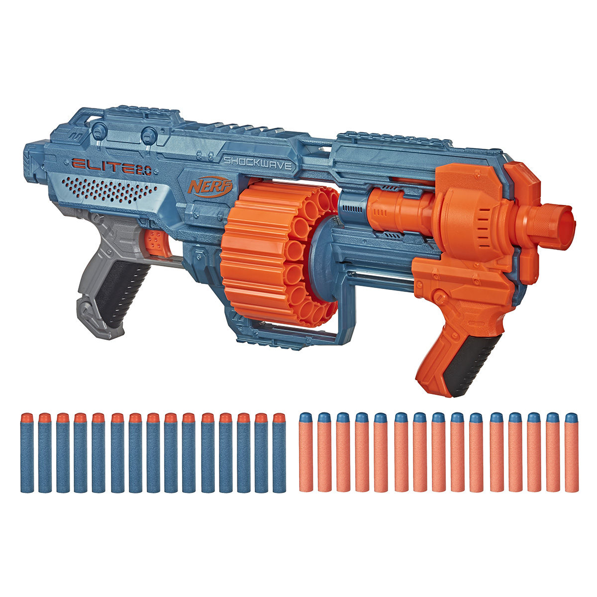 Blaster Nerf Elite 2.0 Shockwave RD-15