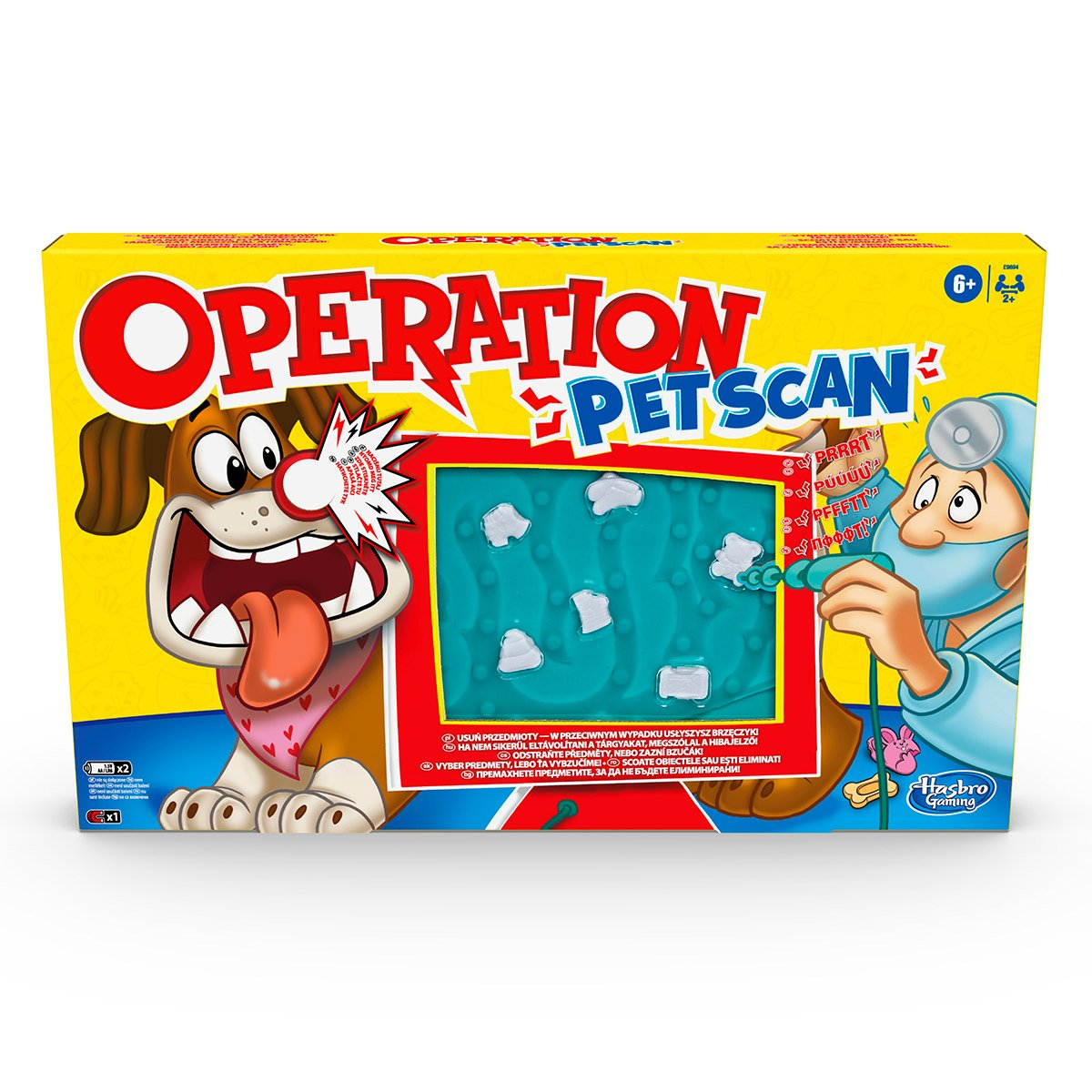 Joc interactiv Hasbro Operation Pet Scan