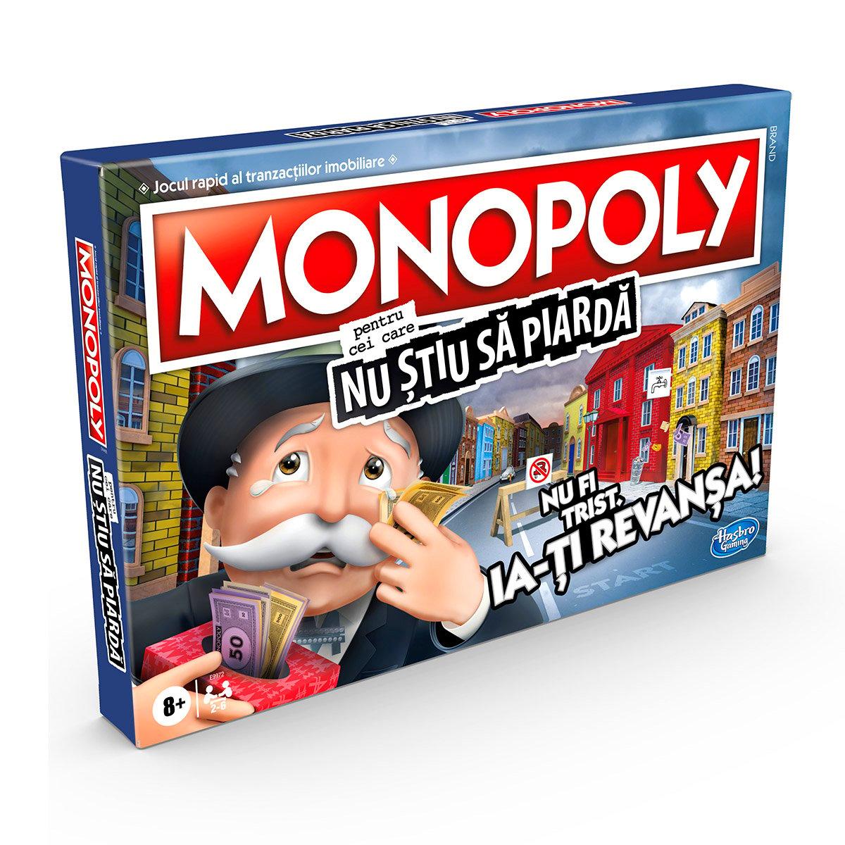 Joc Monopoly pentru cei care nu stiu sa piarda