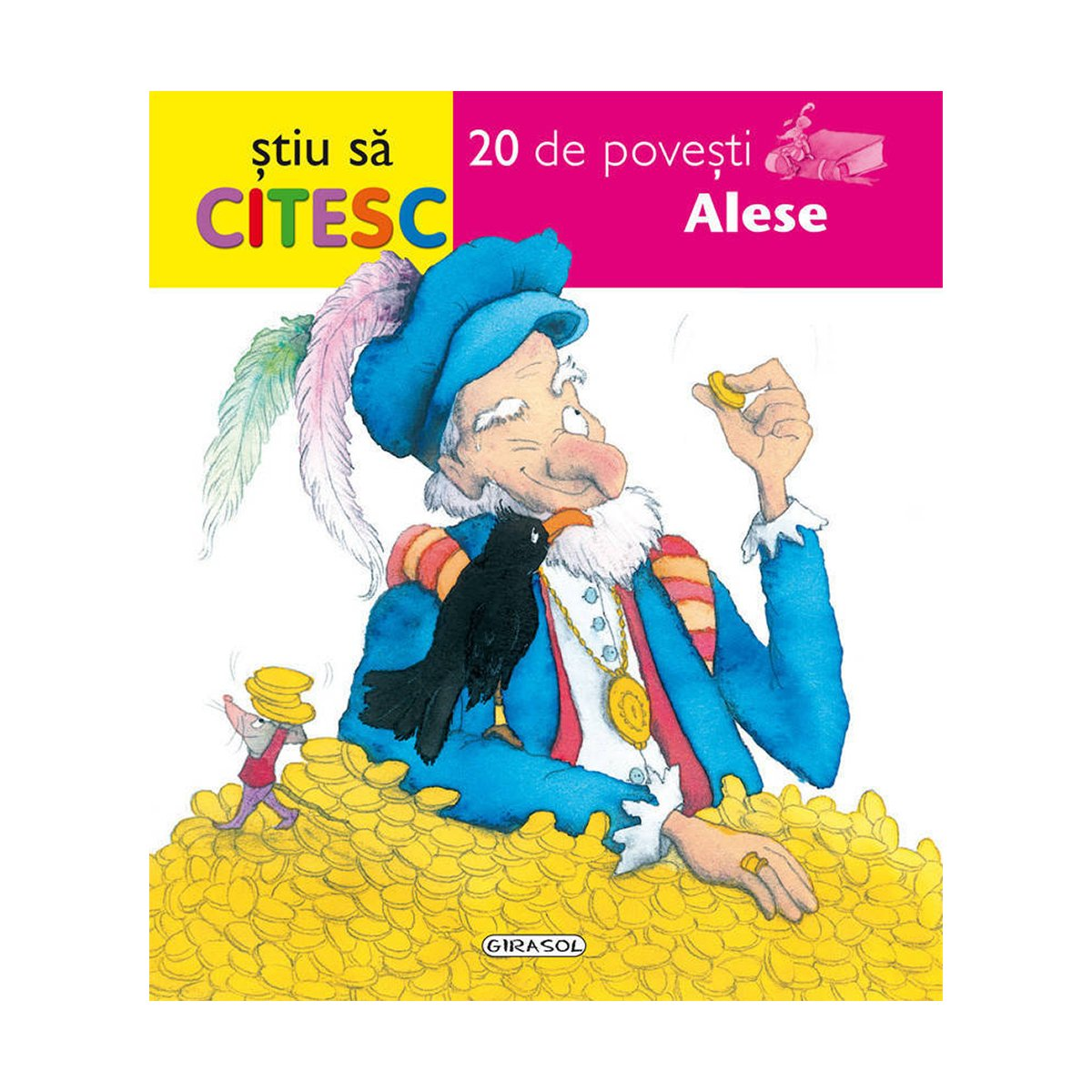Carte Editura Girasol - Stiu sa citesc, 20 de povesti alese