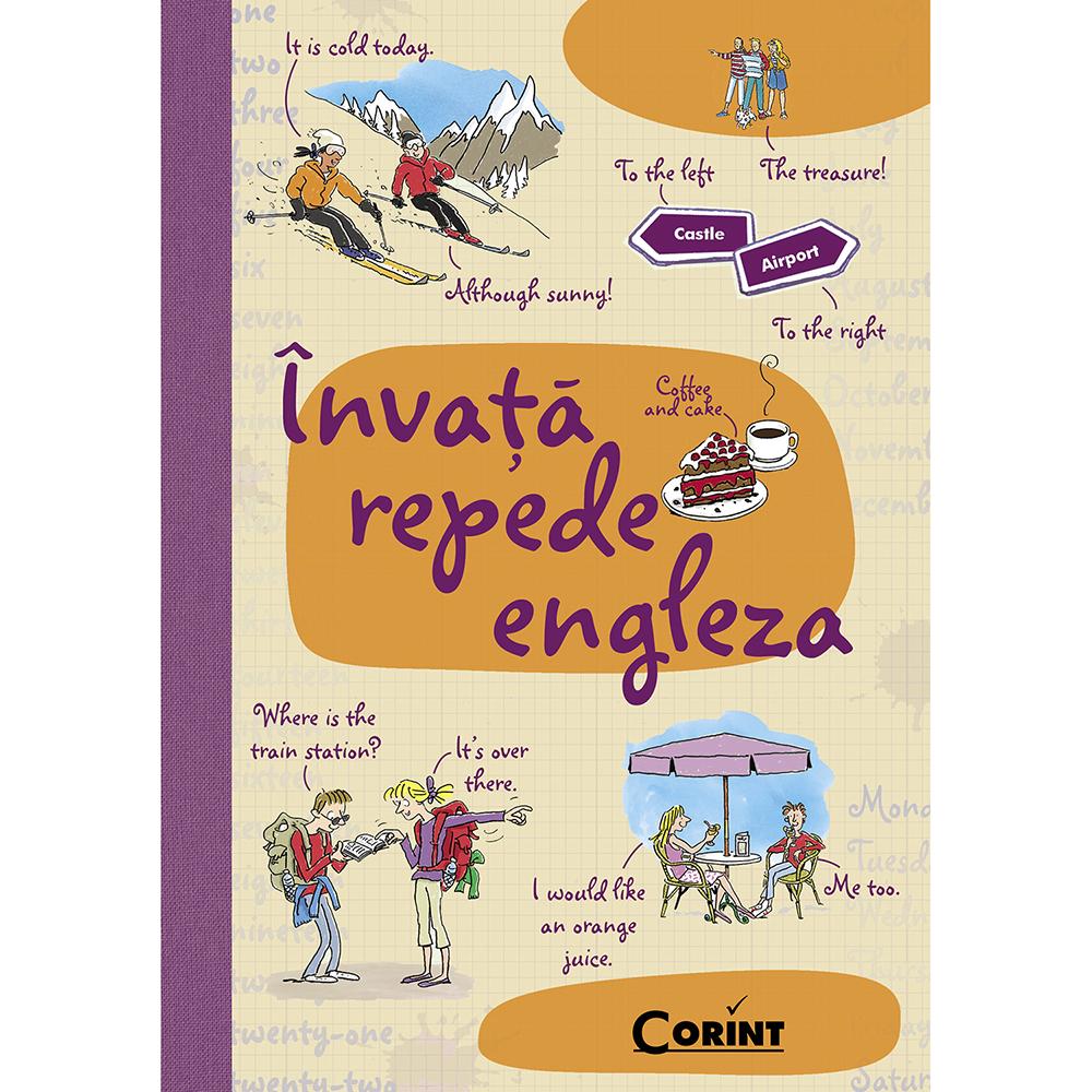 Carte Editura Corint, Invata repede engleza, Luiza Gervescu