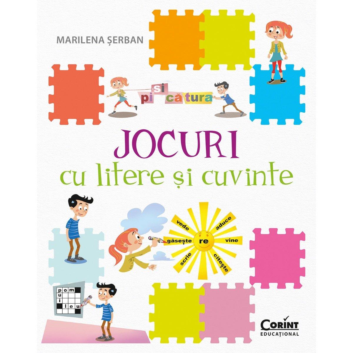 Carte Editura Corint, Jocuri cu litere si cuvinte, Marilena Serban