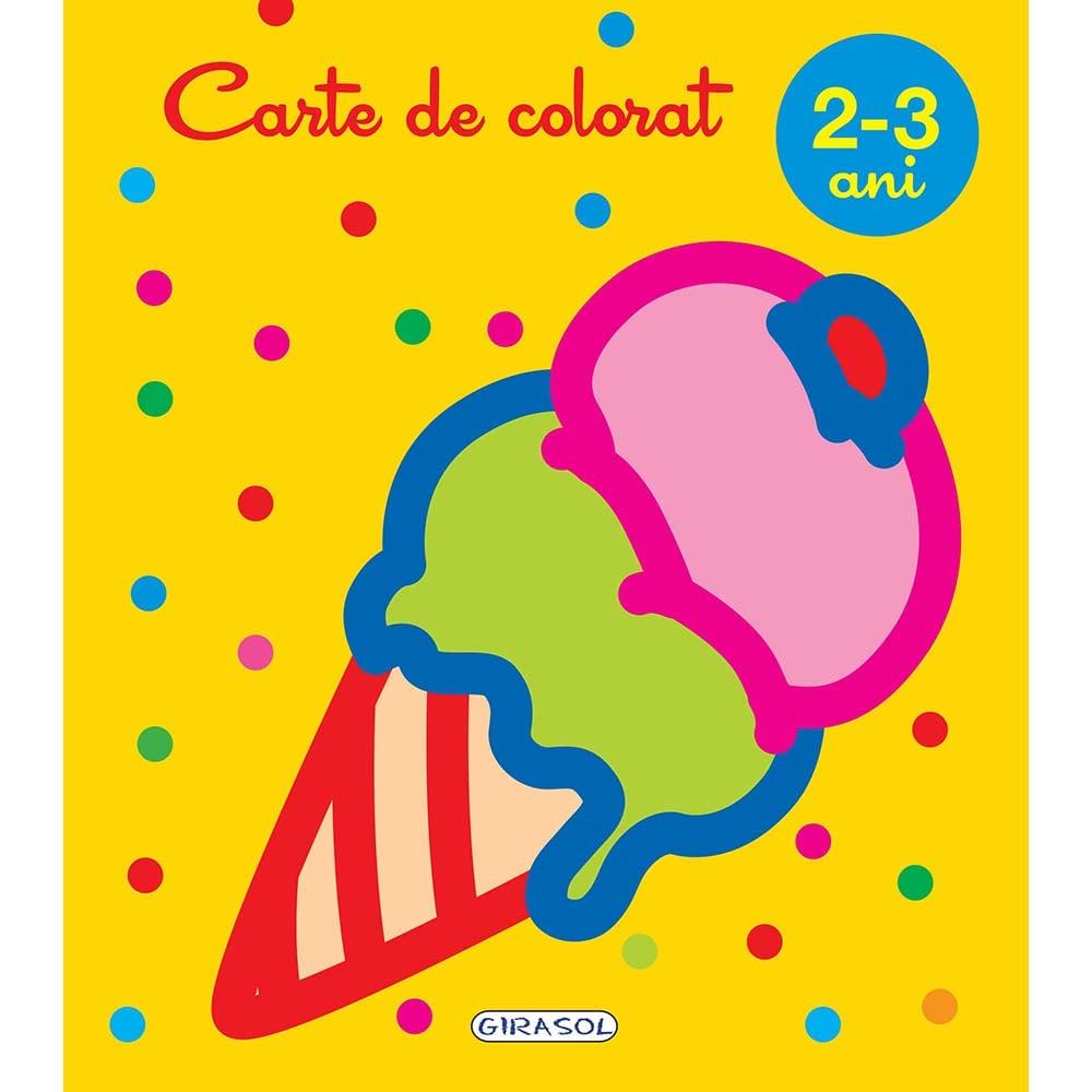 Carte Editura Girasol, Carte de colorat 2-3 ani