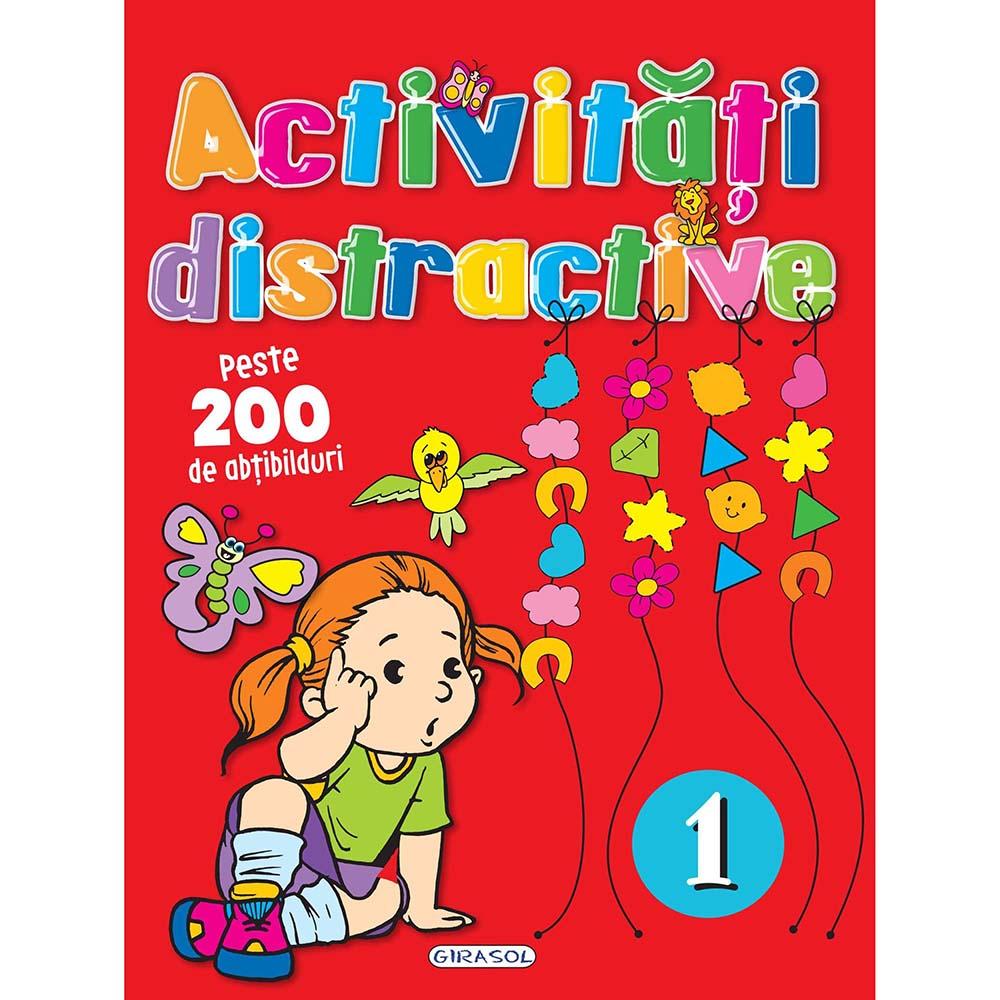 Carte Editura Girasol, Activitati distractive 1