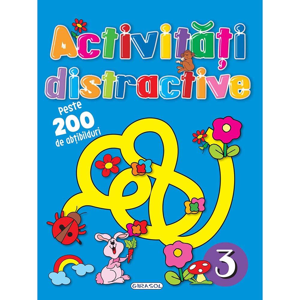 Carte Editura Girasol, Activitati distractive 3
