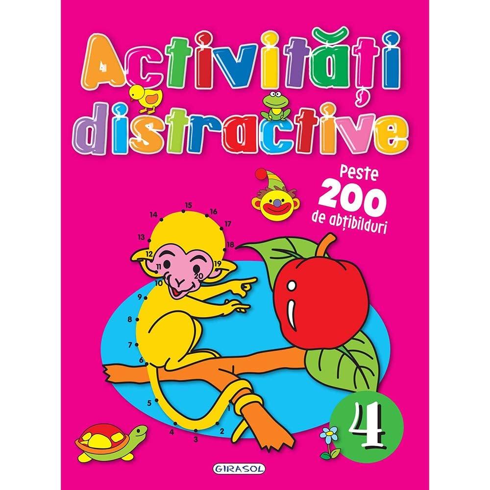 Carte Editura Girasol, Activitati distractive 4